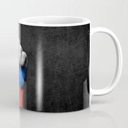 Slovenian Flag on a Raised Clenched Fist Coffee Mug