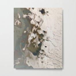 River and sand Metal Print