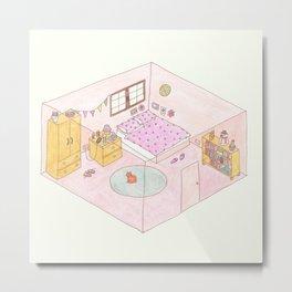 box bedroom Metal Print
