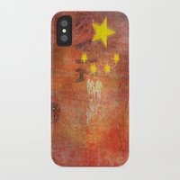 china iPhone & iPod Cases featuring China by Arken25