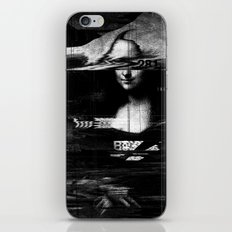 Mona Lisa Glitch iPhone & iPod Skin