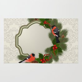 Christmas or New Year decoration Rug