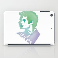 stiles iPad Cases featuring Watercolor Stiles by Liz Swezey