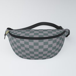 Checkerboard Pattern Inspired By Night Watch PPG1145-7 & Magic Dust Purple PPG13-2 Fanny Pack
