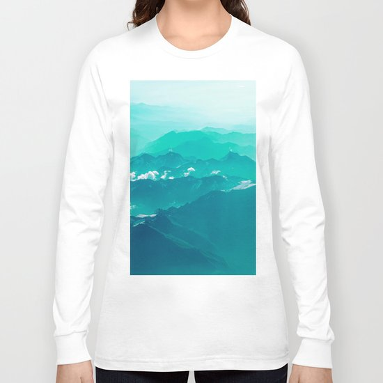 Mountain Waves Long Sleeve T-shirt