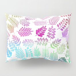 Colorful branches 3 Pillow Sham