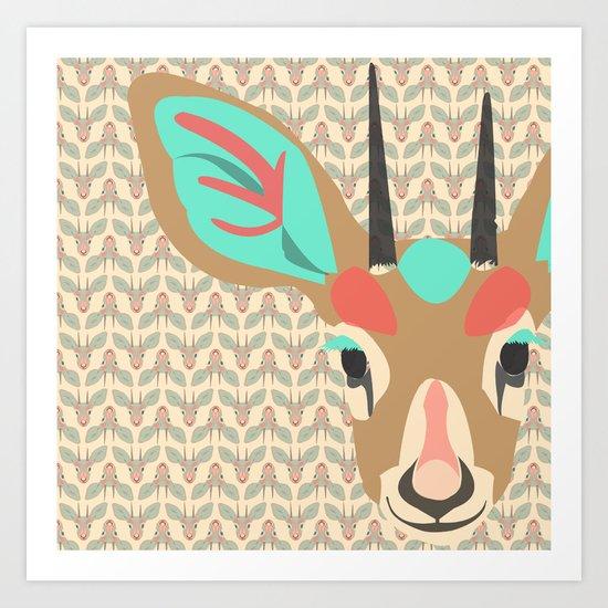 gazelle Art Print