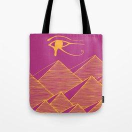 Pyramid Sky Tote Bag