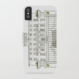 Villa Drawing - Florence iPhone Case
