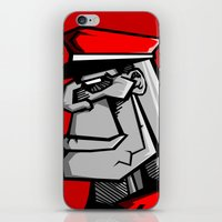 russia iPhone & iPod Skins featuring For Russia by Dangerous Monkey