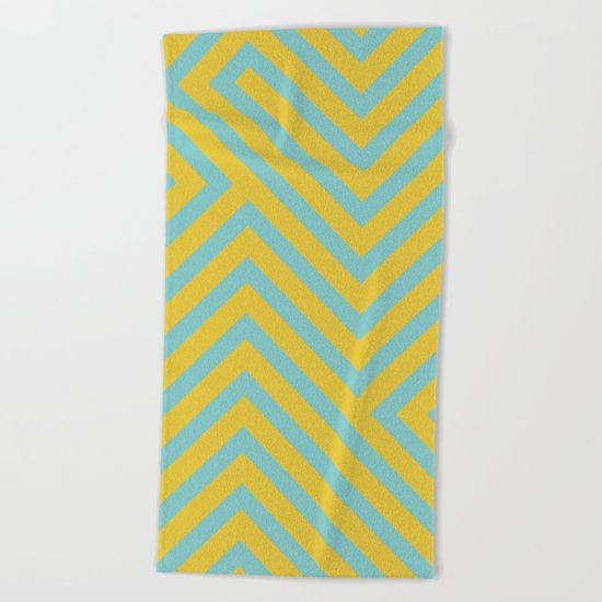 Pastel Labyrinth Beach Towel