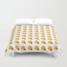 Pixel Taco Duvet Cover