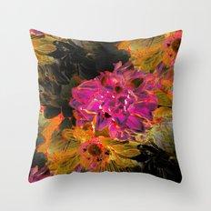 Wow Pow Art Throw Pillow