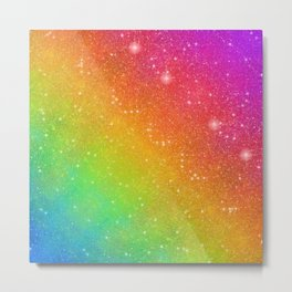 Farting Rainbows Metal Print
