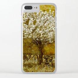 Le Cerisier Clear iPhone Case