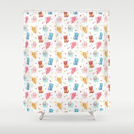 Mythical Creatures Shower Curtain