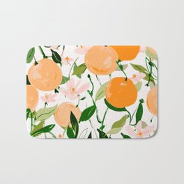 Spring Clementines Bath Mat