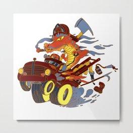 Fireslayer Metal Print