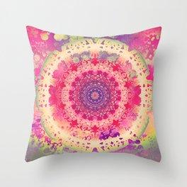 Anenome Mandala Throw Pillow