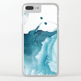 Butterfly in the Wind Clear iPhone Case