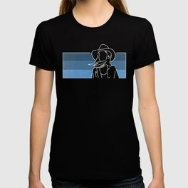 The Girl in the Coat (Desert Remix) T-shirt