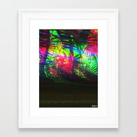 palms Framed Art Prints featuring palms by MARUUN