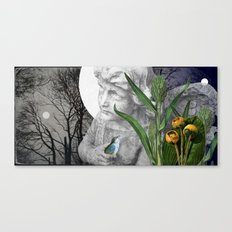 When What You Seek is Already Gone Canvas Print