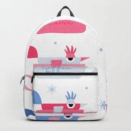Winter Birds : Coffee 4 Ever Backpack