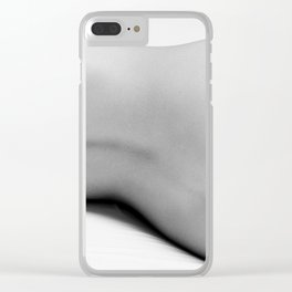 Nude Bodyscape Clear iPhone Case