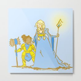 Magic Wives Metal Print