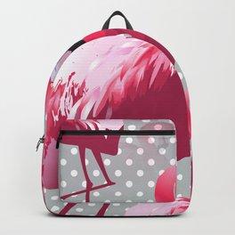 Watercolor Flamingo Pattern 6 Backpack