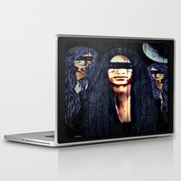 warrior Laptop & iPad Skins featuring Warrior by    Amy Anderson