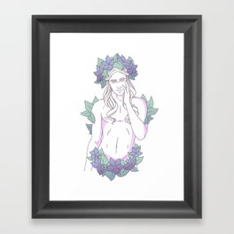 Pretty Boy 7 Framed Art Print