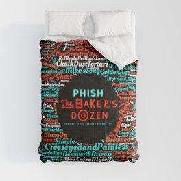 PHISH THE BAKERS DOZEN TOUR DATES 2019 KURA KURA Comforters