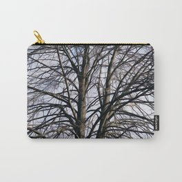 Stained Glass Tree Carry-All Pouch