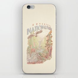 Adventure National Parks iPhone Skin