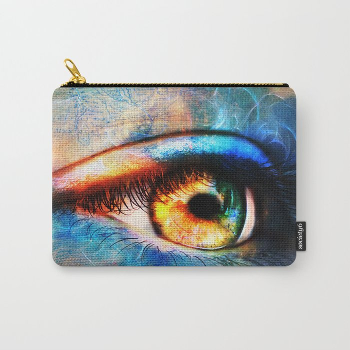 Through the Time Travelers Eye Carry-All Pouch