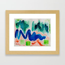 Abstract #8 Framed Art Print
