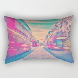 Trippy Rectangular Pillow