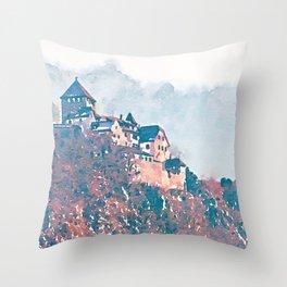 Castle 2 Throw Pillow