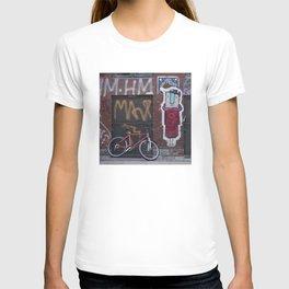 Copenhagen bike and street art T-shirt