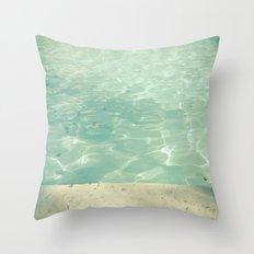 Morning Swim Throw Pillow