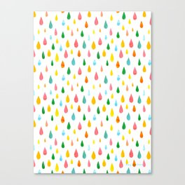 Happy Rain Canvas Print