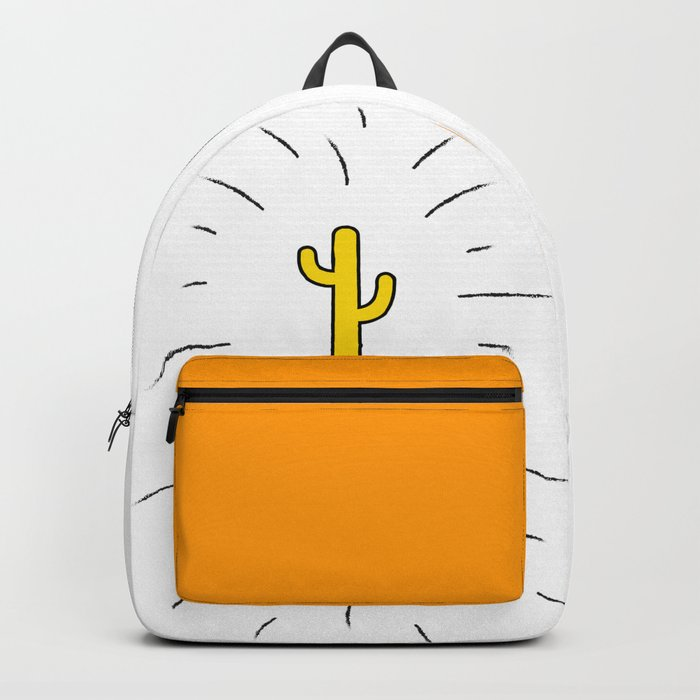 Gold Cactus Backpack