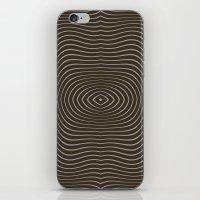 tree rings iPhone & iPod Skins featuring Tree Rings by Morgan Bajardi