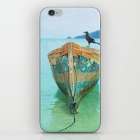 karu kara iPhone & iPod Skins featuring BOATI-FUL by Catspaws
