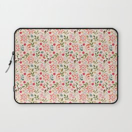 Birds and flowers 001 Laptop Sleeve