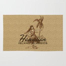Tradewinds Hawaiian Island Hula Girl Rug