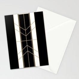 Black & Gold - Art Deco Stationery Cards