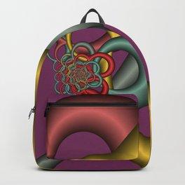 nice colors on violet -2- Backpack